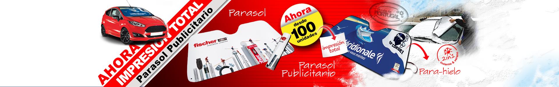 Parasol Publicitario Impresion Digital